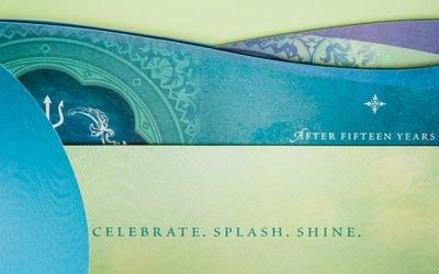 Inspired Folding Designs: Mohegan Sun New Year's Eve Invitation