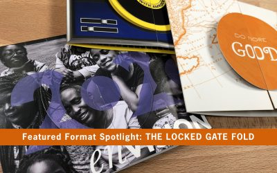 Featured Format Spotlight: Locked Gate Fold