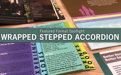 Featured Format Spotlight: The Wrapped Stepped Accordion Fold